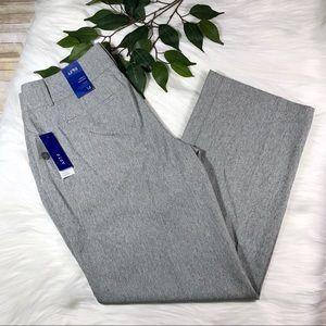 Apt 9 Curvy Light Gray Trouser Sz 14 NWT